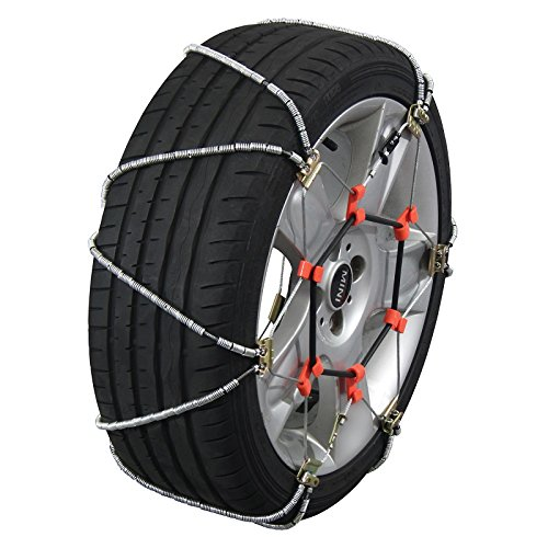 Quality Chain Volt Cable Passenger Snow Traction Tire Chains (QV343) (265 70 16 Tire Cover compare prices)