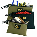 Multi Purpose Clip On Zippered Bags