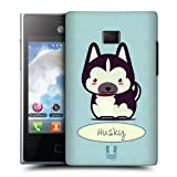 Head Case Husky Wonder Dog Design Snap-on Back Case Cover For Lg Optimus L3 E400