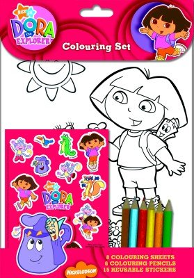 Dora The Explorer Colouring set