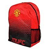 Manchester United FC Football Team Fade Zip Bag Backpack