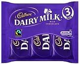 Cadbury Dairy Milk Chocolate Bars 117 g (Pack of 36)