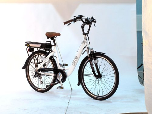 Eg Athens 250 Electric Bike - White