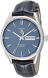 TAG Heuer Men's WAR201E.FC6292 Carrera Analog Display Swiss Automatic Blue Watch