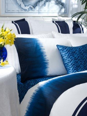 Ralph Lauren Indigo Modern Tye Dye Standard Pillowcases front-1066817