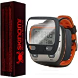 Skinomi® TechSkin - Garmin Forerunner 310XT Screen Protector + Brushed Steel Full Body Skin / Front & Back Premium HD Clear Film / Ultra Invisible and Anti Bubble Shield with Free Lifetime Replacement