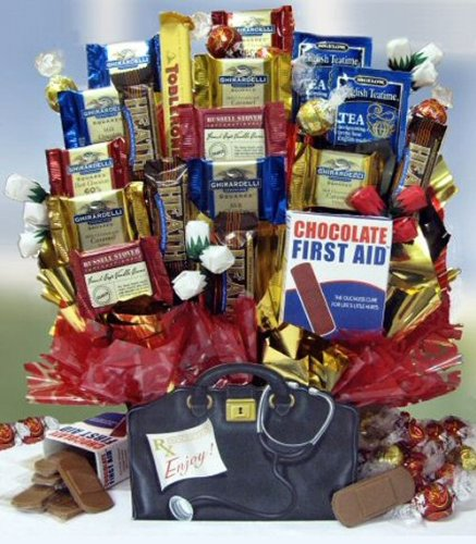 Doctor's Orders Chocolate Gift Basket