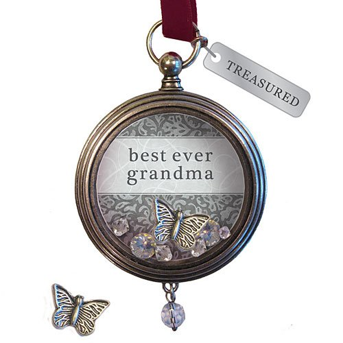 Forever Treasured Keepsake Locket - Best Ever Grandma