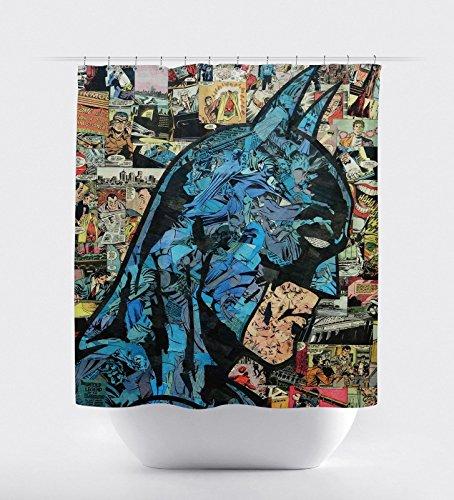 New Batman Dark Knight Superhero Shower Curtain 60