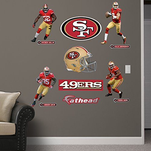 Top best 5 san francisco 49ers room decor for sale 2017 for 49ers wall mural
