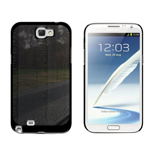 Vietnam Memorial Wall Washington Dc - Snap On Hard Protective Case For Samsung Galaxy Note Ii 2 - Black front-635963