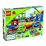 LEGO Duplo 5609 – Il grande treno merci e il centro di smistamento