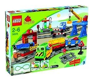 Lego - 5609 - Jeu de construction - DUPLO LEGOVille - Mon coffret train de luxe