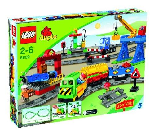 LEGO Duplo 5609 - Eisenbahn Super Set, sortiert