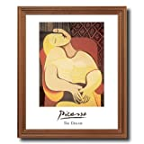 Pablo Picasso The Dream Home Decor Wall Picture Oak Framed Art Print