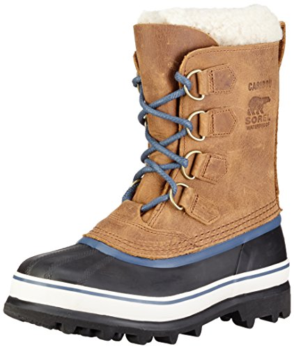 Sorel Caribou Wl, Stivali da Neve Donna, Marrone (Elk, Dark Mountain 286Elk, Dark Mountain 286), 39 EU
