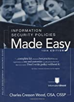 Hot Sale Information Security Policies Made Easy, Version 10