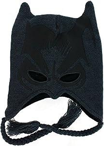 DC Comics Batman The Dark Knight I Am Batman Knit Peruvian Beanie Hat at Gotham City Store