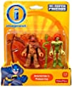 Fisher-price Imaginext Scarecrow and Poison Ivy Dc Super friends