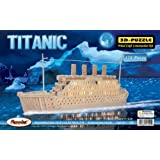 Puzzled, Inc. 3D Natural Wood Puzzle - Titanic