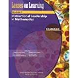 img - for Lenses on Learning Module 1 Readings: Instructional Leadership in Mathematics (Administrators K-8) book / textbook / text book