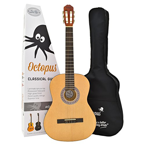 full-size-4-4-student-classical-guitar-outfit-with-gig-bag-natural