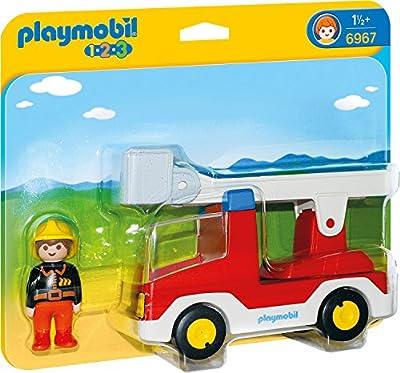 PLAYMOBIL 6967 - Feuerwehrleiterfahrzeug, Spielwerkzeug