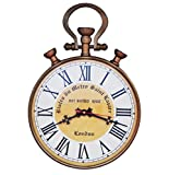 10 Inch dial Brass color Antique hook Wall clock