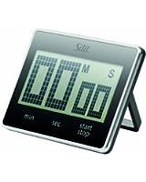 Silit 68003201 Minuteur numérique Attimo Noir