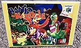 Banjo Kazooie Attack N64 Vintage Game Box 2x3 Fridge Locker MAGNET Nintendo