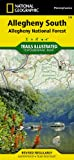 Allegheny National Forest South (Trails Illustrated) (Ti-Other Rec. Areas)