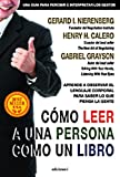 img - for C MO LEER A UNA PERSONA COMO UN LIBRO (Spanish Edition) book / textbook / text book