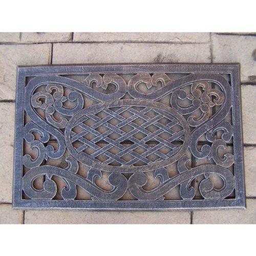 Oakland Living Mississippi Cast Aluminum Doormat, Antique Bronze front-867401