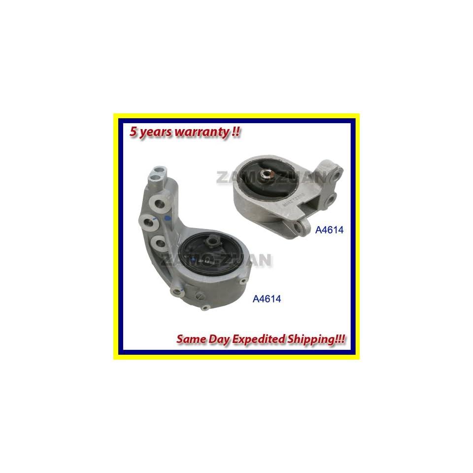 99 03 Mitsubishi Galant 3.0L Front Right & Rear Engine Motor Mount Kit 2PCS. A4616 A4614. 99 00 01 02 03. Automotive