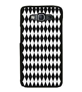 ifasho Designer Phone Back Case Cover Samsung Galaxy On7 G600Fy :: Samsung Galaxy Wide G600S :: Samsung Galaxy On 7 (2015) ( Colorful Pattern Design Prisma )