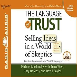 The Language of Trust Audiobook