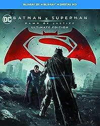 Batman v Superman: Dawn of Justice (Ultimate Edition) [Blu-ray 3D] [2016] [Region Free]