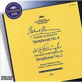 Schumann: Symphony No.4 / Furtw�ngler: Symphony No.2 (2 CDs)