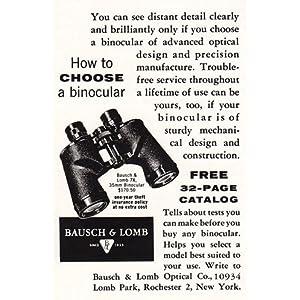 BAUSCH AND LOMB BINOCULARS