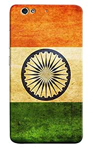 Omnam The Indian Flag Tiranga Printed Designer Back Cover Case For Gionee S6