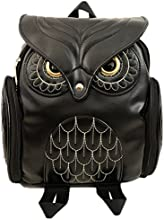 Gifted Tailor Girl39s Lovely 0wl Leather Backpack