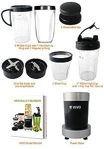 ViVo© Professional 900W 11pc Blizzard Multi Vegetable Fruit Blender Food Processor by VIVO