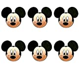 Disney - Mickey Mouse Faces Antenna Topper (6 Pack)