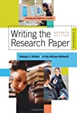 img - for Writing the Research Paper: A Handbook, 2009 MLA Update Edition (2009 MLA Update Editions) book / textbook / text book