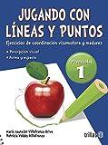 img - for JUGANDO CON LINEAS Y PUNTOS 1, PREESCOLAR book / textbook / text book