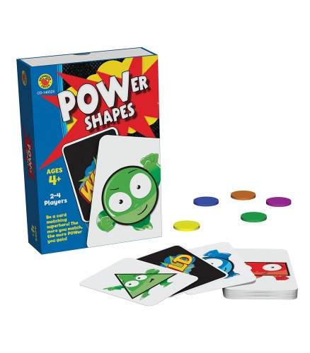 Power Shapes Card Game