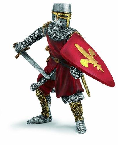 Schleich - Fleur De Lis Foot Soldier Sword