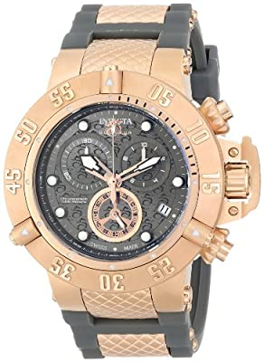 Invicta Men's 15805 Subaqua Analog Display Swiss Quartz Grey Watch