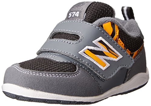 New Balance Fs574 Infant Hook And Loop Running Shoe (Toddler),Grey,6.5 M Us Toddler