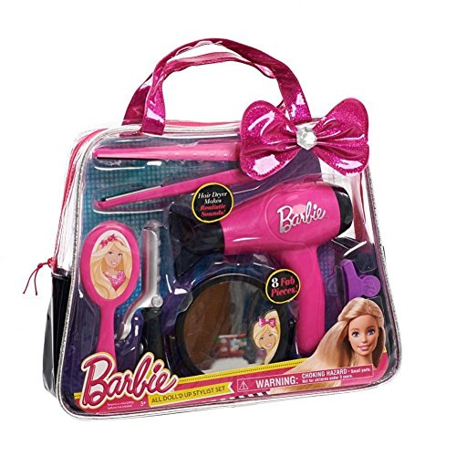 Barbie All Doll'd Up Stylist Set (Barbie Hair Dryer compare prices)